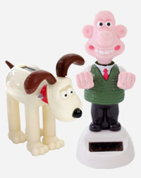 Wallace & Gromit Solar Groovers