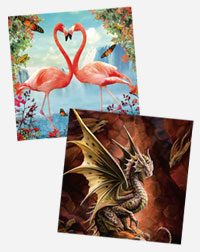 Diamond Art Canvases Article