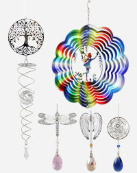 Suncatchers and Wind Spinners Article