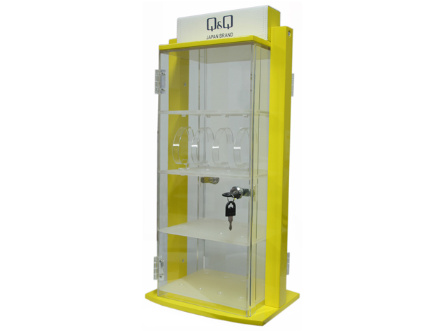13087f3aee Q Q WATCH STAND 32 PCE LOCK-UP ROTATING (CONTACT US FOR STAND OPTIONS) QQST