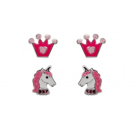 SENSATION SILVER UNICORN SET