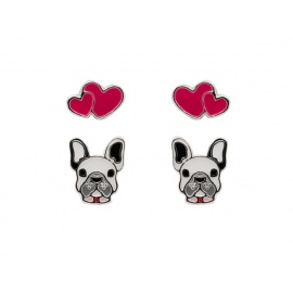 SENSATION SILVER FRENCHIE SET