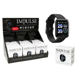 SMART WATCH IMPULSE BLACK