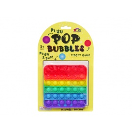 PUSH POP GAME SQUARE RAINBOW