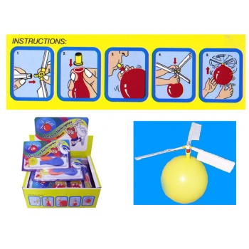 t6b067 BALLOONS HELICOPTER (BOX 24) - Adnohr